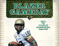 UAB Football Program Covers 2012