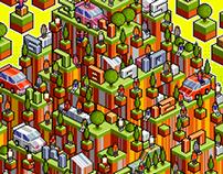Isometric Pixel-Arts In A Week