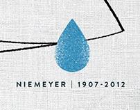 Anúncio Homenagem Oscar Niemeyer