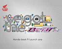 HONDA Beat FI launch 2012