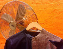 """Twister"" Menswear shirt"