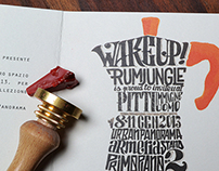 RumJungle Italia x Pitti Immagine Uomo Invite card