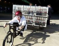 Coca-Cola Zero and Mentos Rocket Car. 100M Impressions