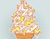 What's your favourite Ice Cream? (PHFat fan art.)