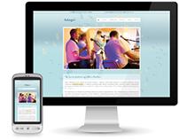 Adagio Band - Web Design