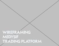 Trading Platform Wireframes