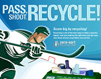 Spartan Arena Recycling Campaign