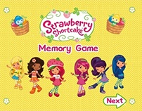 Strawberry Shortcake: Memory Game
