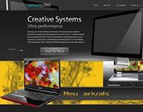 My 1st website design