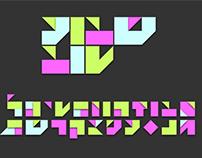 Shavua Tov — weekly typographic treatment