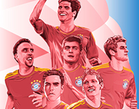 FC Bayern - posters