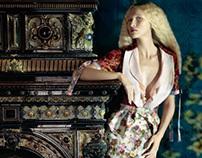 Muse/ editorial Harper's Bazaar Ukraine