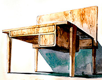 Furniture for  Chinese traditional ink painting ... ...