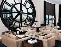 Famed Clock Tower Penthouse, Dumbo, New Jersey