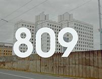 "Video Essay №3 ""809"""