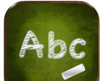 Alphabet for Children, iPhone app