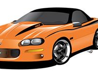 Camaro Z28 Vector Illustration