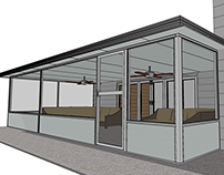 SketchUp 3D Carport and Screen Room Models