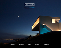 Website design for architecture project