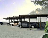 Canopy for cars
