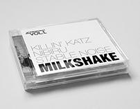 Departures Project - Milkshake - Album Cover