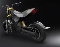 Peregrinus Electric Motorcycle