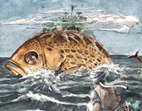 Sinbad's first voyage - Illustration