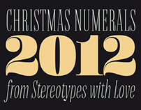 Christmas Numerals (Free Font)