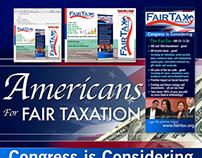 Fair Tax :: Promotional Messaging :: Display Design