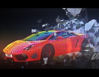 Lamborghini Gallardo Explosive 360