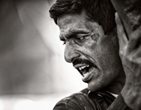 Faces x2 - Portraits of street workers