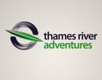 Thames River Adventures branding