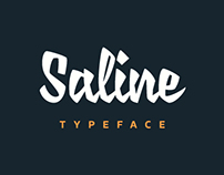 Saline typeface