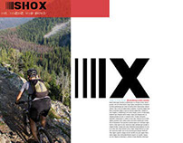 Mountain Bike Magazine Spread