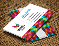Mosaic Studio Business Card