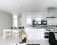 White interior, II