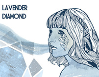 Lavender Diamond illustration