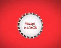 Message in a bottle - Coca Cola