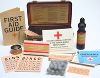 BINGO FIRST AID KIT INVITATION