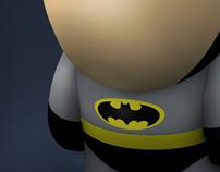 RETRO SUPER HERO TOYS