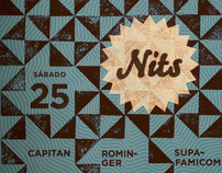 Nits IndiePendent 2010-2011 // Music event graphic