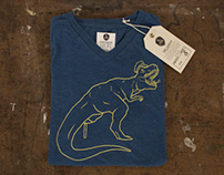 T-Rex V-Necks Apparel Co.