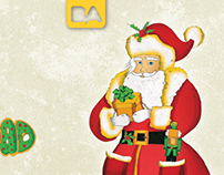 Christmas illustrations for BA city