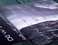 TYPOGRAPHY Modern Rune