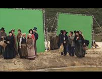 "VFX reel for ""Je m´appelle Bernadette"" feature film"