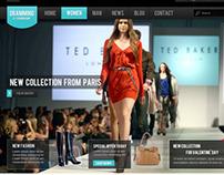 The Fashion Shop - PSD