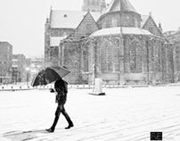 Winter day at Rotterdam