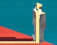 Editorial illustrations for Morningstar Advisor