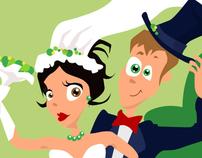 Wedding characters