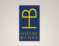Hoare Banks branding